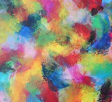 """In a Dream No.3"" original abstract artwork by Laura Tozer by Laura Tozer"