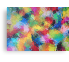 """""""In a Dream No.3"""" original abstract artwork by Laura Tozer Canvas Print"""