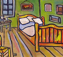 Van Goghs Bedroom At Arles  by sword