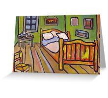 Van Goghs Bedroom At Arles  Greeting Card