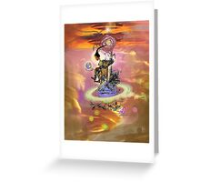 Nina Simone by DEO 1 Greeting Card