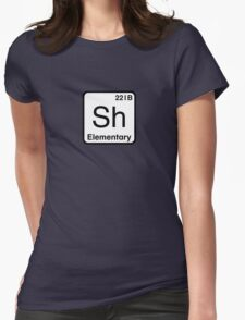 The Atomic Symbol for Detection  Womens Fitted T-Shirt
