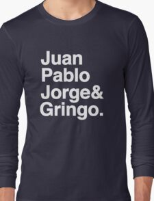 El Fabo Quatro ...for dark t-shirts! Long Sleeve T-Shirt