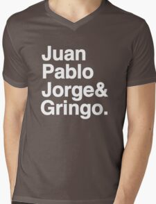 El Fabo Quatro ...for dark t-shirts! Mens V-Neck T-Shirt