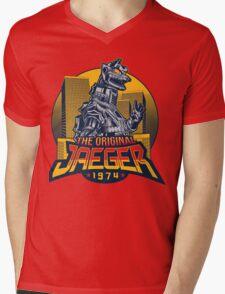 THE ORIGINAL JAEGER Mens V-Neck T-Shirt