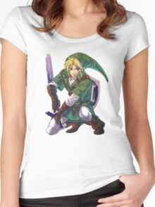 Just... Link.  Women's Fitted Scoop T-Shirt