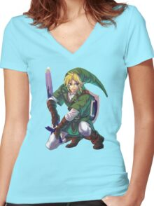 Just... Link.  Women's Fitted V-Neck T-Shirt