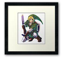 Just... Link.  Framed Print