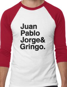 El Fab Quatro Men's Baseball ¾ T-Shirt