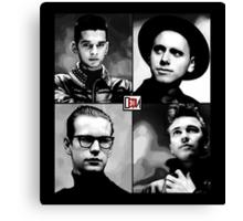 Depeche Mode :  101 Official t-shirt  Canvas Print