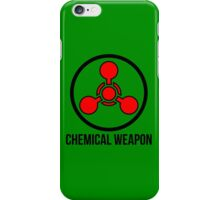 Chemical weapon iPhone Case/Skin