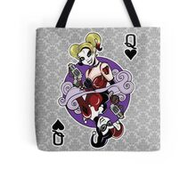 Harley Quinn Queen of Hearts Tote Bag