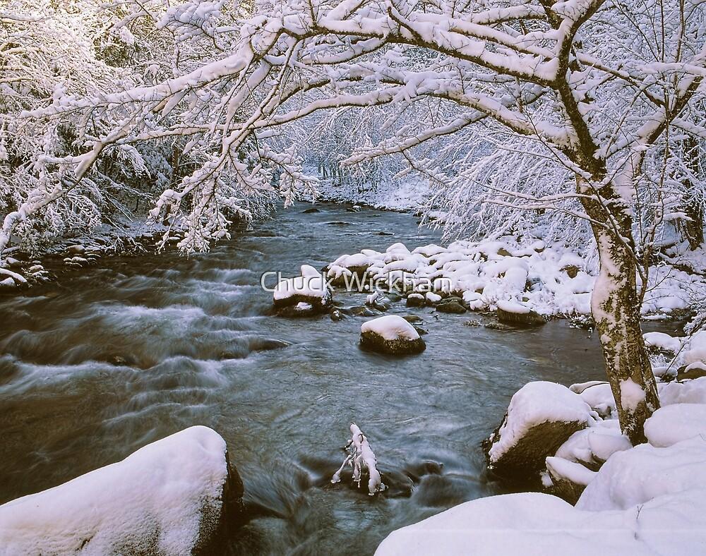 WINTER STREAM by Chuck Wickham