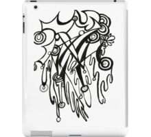 blood and bubbles iPad Case/Skin