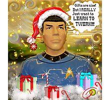 Twerking Spock? Photographic Print