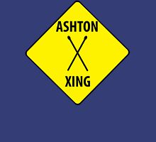Ashton XING (Crossing Sign) -Drumsticks Womens Fitted T-Shirt