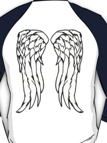 Daryl Dixon Angel Wings - The Walking Dead T-Shirt