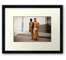 Lost Monks Framed Print