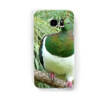 Did You Knock On My Wood? - Wood Pigeon - NZ Samsung Galaxy Case/Skin