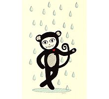 I'd dance in the rain in a monkey suit just to see you smile Photographic Print