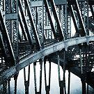 Big Blue Bridge by Rossman72