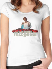 FREE GUCCI Women's Fitted Scoop T-Shirt