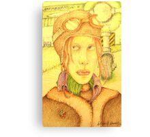 Amelia ? Canvas Print