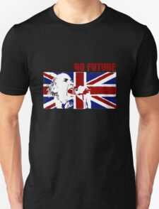 No Future - Sex Pistols - Johnny Rotten (Union Jack Design) T-Shirt