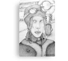 BW Amelia ? Canvas Print