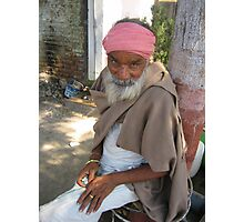 India Portraits Photographic Print