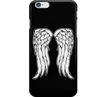 Daryl Dixon Angel Wings - The Walking Dead iPhone Case/Skin