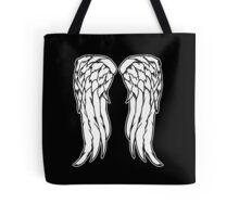 Daryl Dixon Angel Wings - The Walking Dead Tote Bag