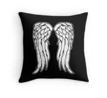Daryl Dixon Angel Wings - The Walking Dead Throw Pillow
