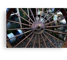 Oul Pulley Wheels! Canvas Print