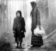 The great Depression, Mother and Daughter by terry morris