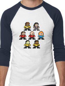 8-bit ST:TNG Men's Baseball ¾ T-Shirt