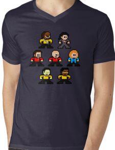 8-bit ST:TNG Mens V-Neck T-Shirt