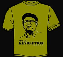 Viva la Kevolution (green) by handdrawnmedia