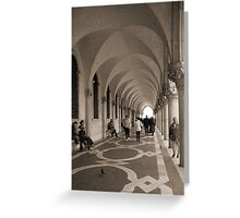 Il Palazzo Ducale Greeting Card