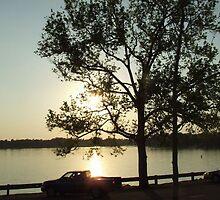 Sunset # 1 over Lake Murray, South Carolina by Ray1945