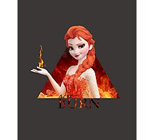 Disney's Frozen - Elsa - Let it burn Photographic Print
