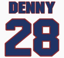 National football player Earl Denny jersey 28 by imsport