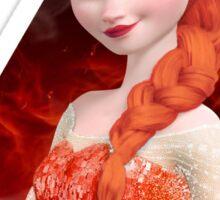 Disney's Frozen - Elsa - Let it burn Sticker