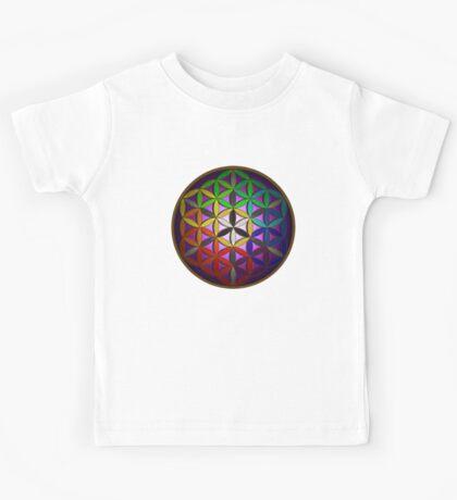 flower of life (spectral) Kids Tee