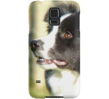 At Your Command I'm Ready For Outrun! - Border Collie - NZ Samsung Galaxy Case/Skin