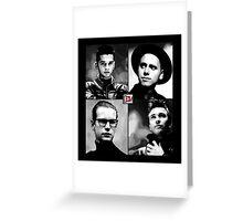 Depeche Mode :  101 Official t-shirt for Black Shirt Greeting Card