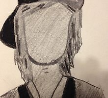 Kellin Quinn Outline Silhouette  by MCRmyTHIRTEEN