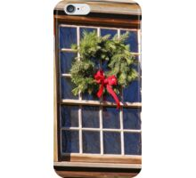 Holiday Treatment iPhone Case/Skin
