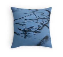 Shattered Wood Throw Pillow