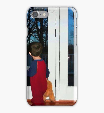 Waiting for Santa iPhone Case/Skin